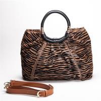 IKON 時尚經典馬毛手提包-型(網)