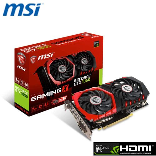 MSI 微星 GEFORCE® GTX 1050 GAMING X 2G 顯示卡