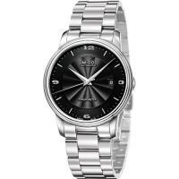 MIDO Baroncelli III 經典天文台認證機械腕錶-黑/39mm M0104081105700