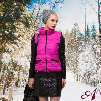 【A3】時尚輕暖背心羽絨(兩穿)羊皮外套