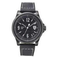 Scuderia Ferrari 法拉利 經典工藝時尚男用皮帶腕錶/46mm/FA0830272