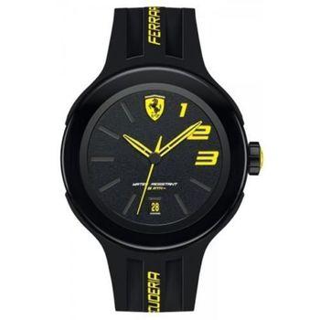 Scuderia Ferrari 法拉利極速傳說時尚男用腕錶-44mm/FA0830221