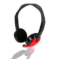 【KINYO】簡約風頭戴式耳機麥克風(EM-3652)