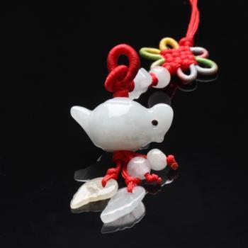【雅紅珠寶】福氣滿滿冰種緬甸玉墜子-吊飾/項鍊