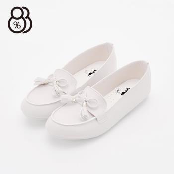 【88%】日系甜美 流蘇蝴蝶結 平底豆豆底 便鞋 娃娃鞋 懶人鞋 3色