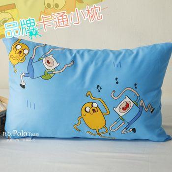 【R.Q.POLO】探險活寶 品牌卡通小童枕/兒童枕/枕頭(含枕心)