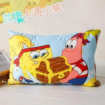 【R.Q.POLO】海棉寶寶 品牌卡通小童枕/兒童枕/枕頭(含枕心)