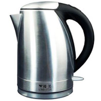 優美1.7L晶沁不鏽鋼快煮壺 UMI-172S