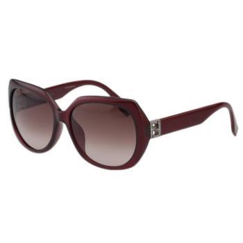 FENDI 時尚太陽眼鏡 (紅色)FF0047FS
