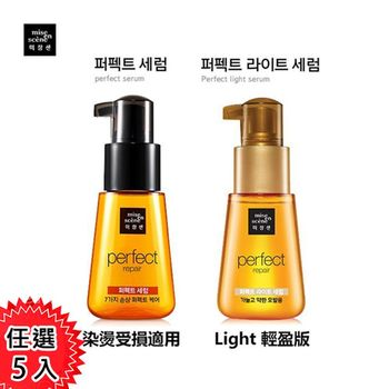 韓國 Mise en scene 美強生 玫瑰精華護髮油 70ml 任選5入