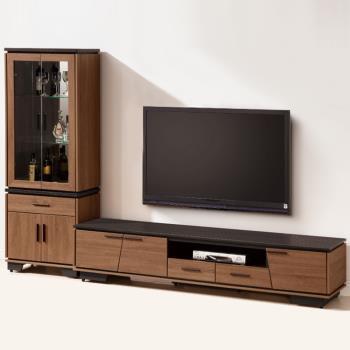 Bernice-伯倫9.2尺L型櫃電視櫃組合
