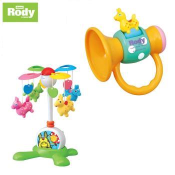 【RODY】兩用音樂鈴+喇叭搖鈴