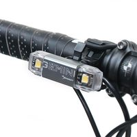 MOON GEMINI F 白光2顆LED警示燈7段模式鋁合金前燈