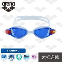 【日本製】 arena  訓練款 AGY590M 高清鍍膜 大框防霧 進口泳鏡 專業科技泳鏡 高品質游泳鏡  男女通用