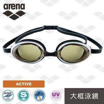 【日本製】 arena  休閒款 AGL2800 防霧 防紫外線 鍍膜 泳鏡  男女通用