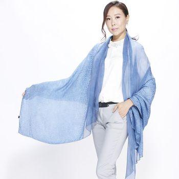QWI歐式皇族蠶絲圍巾