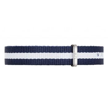 DW Daniel Wellington 藍白帆布錶帶/13mm(1028DW)