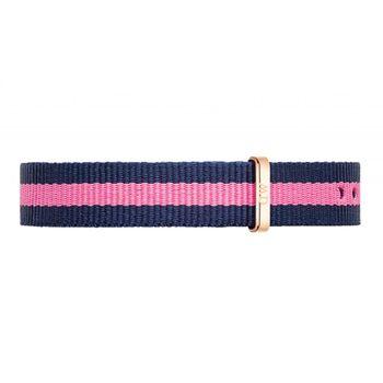 DW Daniel Wellington 藍粉紅帆布錶帶/13mm(1006DW)
