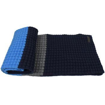 BURBERRY 3944299 時尚配件喀什米亞羊毛長圍巾.藍/深藍