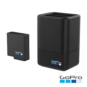 【GoPro】HERO5 /HERO6 Black專用雙電池充電器AADBD-001(公司貨)