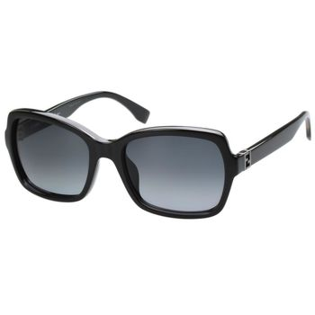 FENDI 時尚太陽眼鏡(黑色)