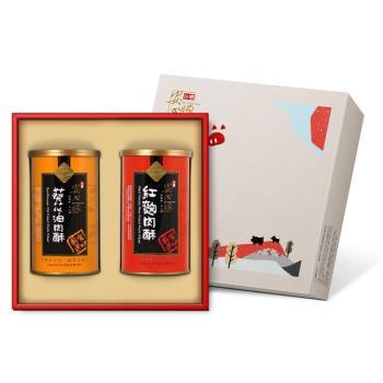 台糖安心豚 幸福滋味禮盒6盒(紅麴肉酥+葵花油純肉酥)