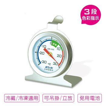 不銹鋼冰箱專用 溫度計~冷凍冷藏皆適用(一組兩入)
