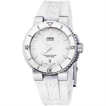 ORIS Aquis 時間之海專業潛水機械腕錶 0173376534156-0742631EB