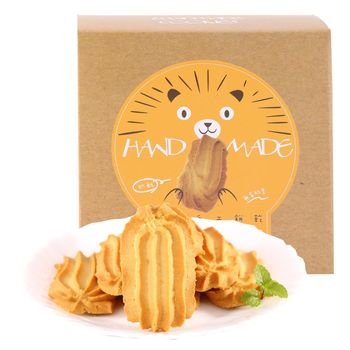 唯王食品 手工餅乾-原味奶酥餅乾 (10片/盒)