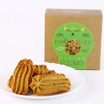 【唯王食品】(粉絲回購第一名)解饞安心小零嘴 海苔奶酥手工餅乾 (10片/盒)