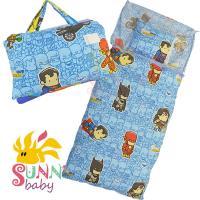 【Sunnybaby生活館】- 卡通造型幼教兒童睡袋-正義聯盟