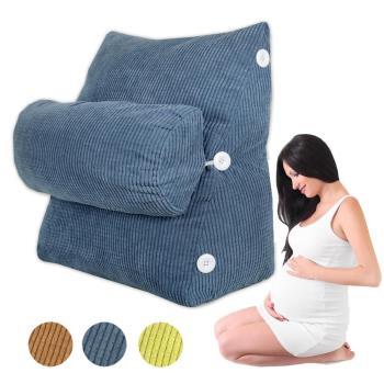 【Life Plus】典雅風尚 孕婦媽咪舒壓萬用靠枕/抱枕/腰靠枕 (多款任選)