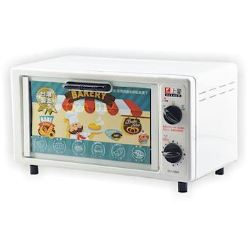 SUNHOW上豪 8公升雙旋鈕電烤箱 OV-0885 / OV0885