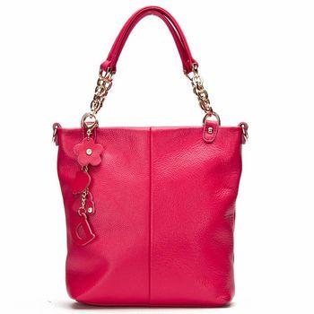 DF FlorEden - 紐約魅力吊飾真皮款手提式3用包-共3色
