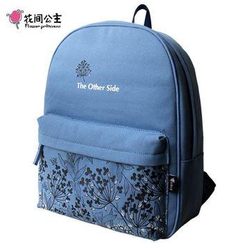 花間公主 SIDE雙肩包原創清新森女學院背包旅行女包