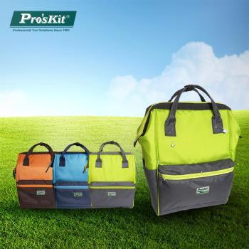 【Proskit 寶工】 大開口大容量多彩後背包/媽媽包/夢可包  ST-3218