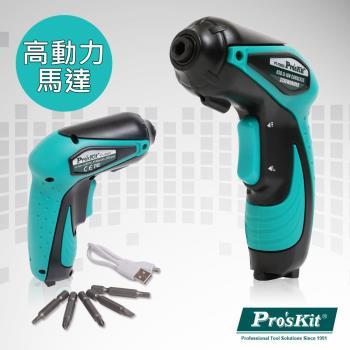 【ProsKit 寶工】 3.6V  USB充電型電動起子  PT-1362U