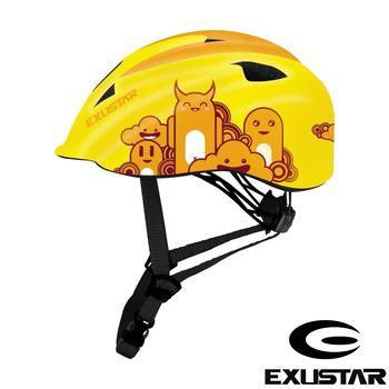 EXUSTAR 自行車兒童安全帽 (黃)