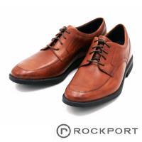 Rockport 馬拉松系列 紳士皮鞋舒適減震男鞋-棕(另有黑)