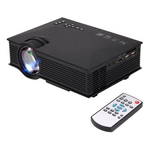 【 IS愛思】鏡像130吋微型投影機 附遙控器 P046W