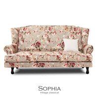 【obis】Sophia鄉村高背三人沙發