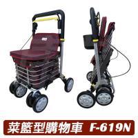 菜籃型購物車/散步購物車 (F-619N)
