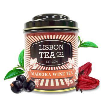 Lisbon Tea Co.馬德拉葡萄酒薰香紅茶50gx1罐