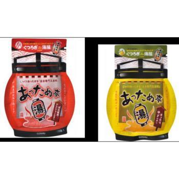 GOSHU五洲湯屋溫泉入浴剤-香柚+艾草/唐辛子+生薑共(50g)*12