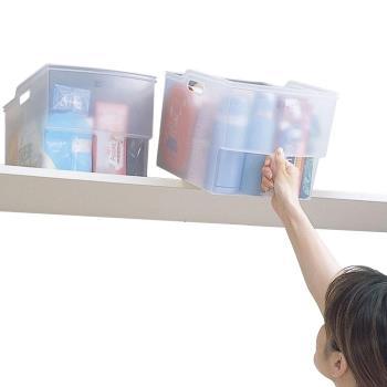 【特惠組】日本Fudogiken高位層板專用(13公升+10公升)手持收納籃