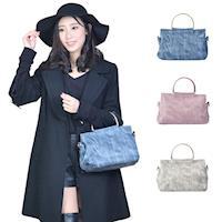 阿卡天使名媛風俏麗女孩時尚風情手提肩背包(多色)PB805