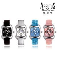 萬寶鐘錶 ARBUTUS 愛彼特 酒桶型皮帶手錶 AR0088