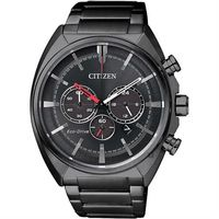CITIZEN 星辰 Eco-Drive 光動能跨時代計時腕錶-黑/43mm CA4285-50H