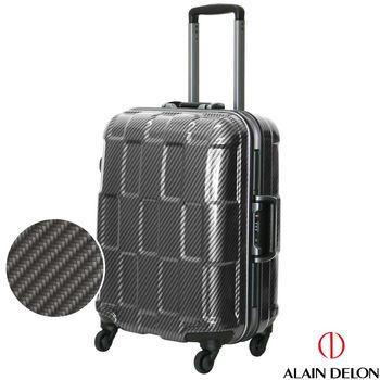 ALAIN DELON 亞蘭德倫 20吋TPU系列鋁框行李箱(黑)
