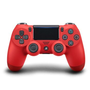 SONY PS4 原廠 DualShock 4 光條觸碰板 無線震動手把-熔岩紅(CUH-ZCT2G11)